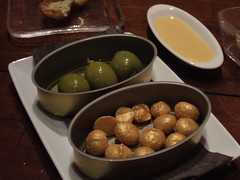 Olives and Golden macadamias