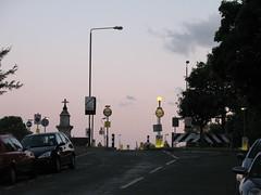 Hyde Vale (hapticflapjack) Tags: sunset lamp streetlight blackheath dusk nightfall