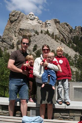 Mt. Rushmore - Family Portrait