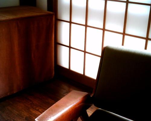 【写真】VQ1005で撮影した前川國男邸の椅子