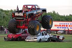 Bandit Monster Truck at Scott May's Daredevil Stunt Show, Musselburgh, Edinburgh