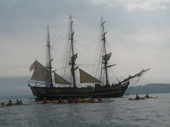 HMS Bounty and Mountaineers