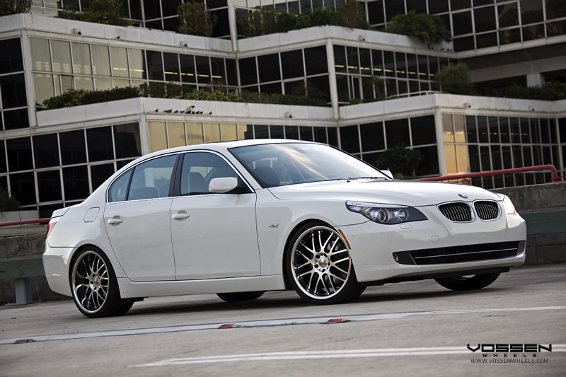 BMW 550i on Vossen VVS094 Wheels