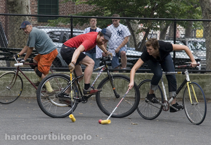 7-6-2008 quinn kev bike polo in the pit nyc