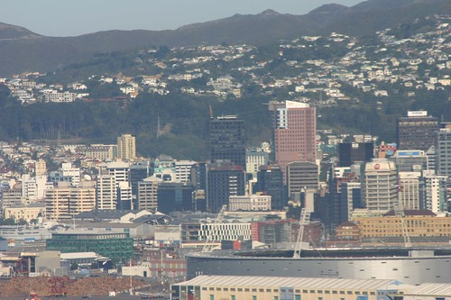 Wellington Harbour from Khandallah