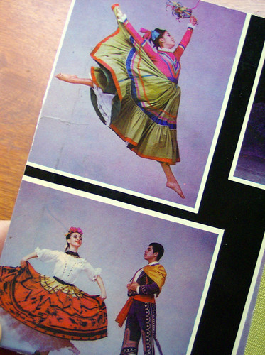 Ballet Folklorico de Mexico Notebook - Detail