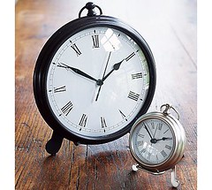 PotteryBarnPocketwatchClock