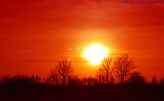 Sunshine on a rainy day... (law_keven) Tags: trees sunset red england orange sun yellow kent sandwich soe themoulinrouge silhuettes blueribbonwinner explore500 bej mywinners abigfave anawesomeshot theunforgettablepictures theperfectphotographer goldstaraward