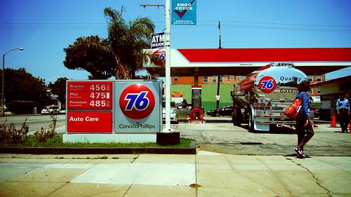 76加油站