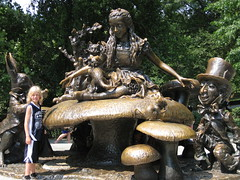 Dominic Central Park Alice in Wonderland
