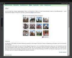 WordPress2.6DE-Dashbord mit Theme-Vorschau (powered by ThickBox)