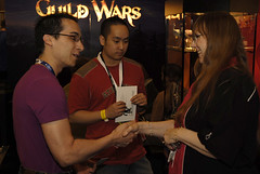 Gaile Gray Chats with Fans (ArenaNet) Tags: pax guildwars pax2007