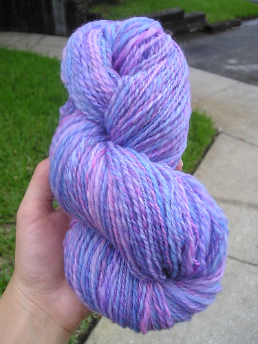 Spring Misty Merino, plied