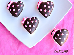 Bows And Polka Dots (~Trs Chic Cupcakes by ShamsD~) Tags: pink brown cakes beautiful by southafrica fun this cupcakes is candy heart chocolate african cinnamon ganache south mini polka explore tres vanilla chic dots now bows proudly pietermaritzburg goreous designercupcakes platinumphoto nikond40 impressedbeauty shamsd proudlysouthafrica vanillaandchoclatecakes shamimadesai madeinsouthafrica cupcakesinsouthafrica cupcakesfromsouthafrica cakesfromsouthafrica cakesinpietermaritzburg cupcakesinpietermaritzburg weddingcupcakesinsouthafrica weddingcupcakesinpietermaritzburg