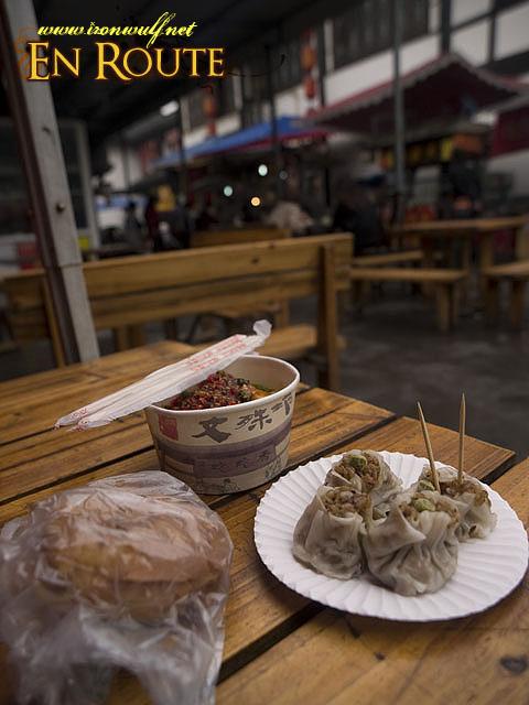 Beef Pancake, Broken Hearted Noodles and Rice Dumpling