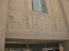 Reliefs on City Hall & Ramsey County Courthouse by Lee Lawrie