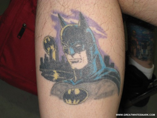 Batman Tattoo at San Jose Super-Con 2008