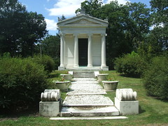 Hecker Mausoleum (Dave Garvin) Tags: cemetery all michigan detroit mausoleum marble woodlawn hecker mausoleums