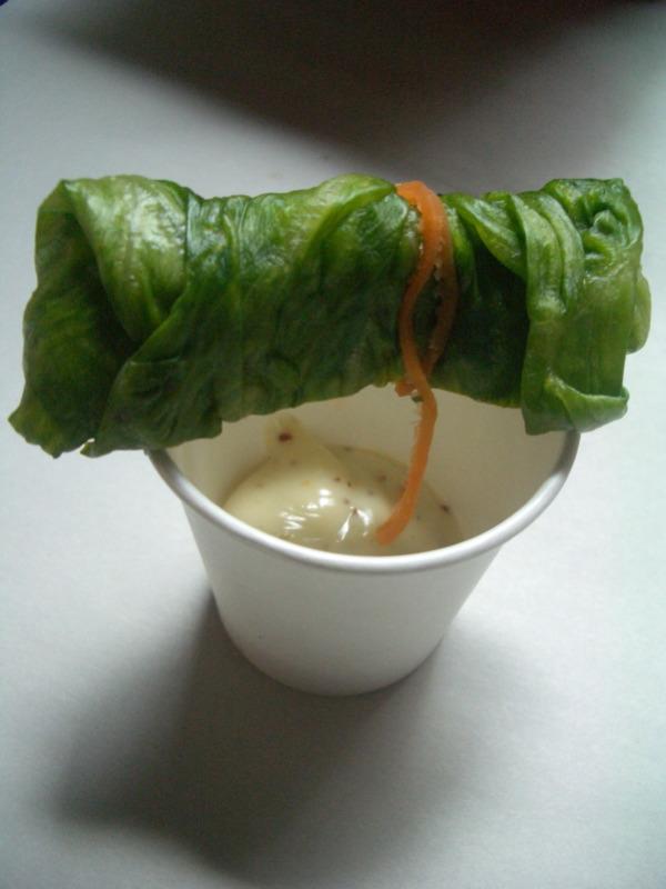Lettuce roll