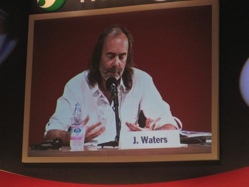 John Waters at Meeting 2008, Rimini