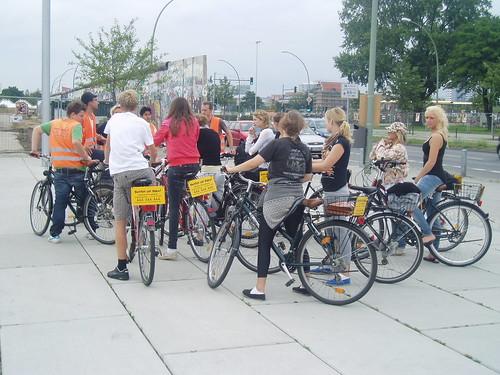 Berlin ruta turística en bicicleta