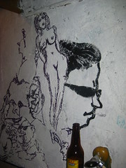 Naked Lady Sharpie Wall Art