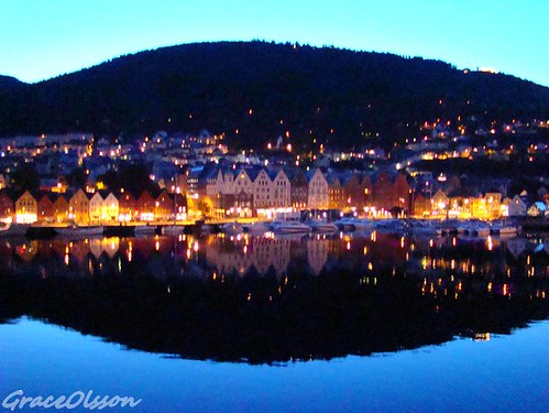 The night is going now...Bergen - Norway