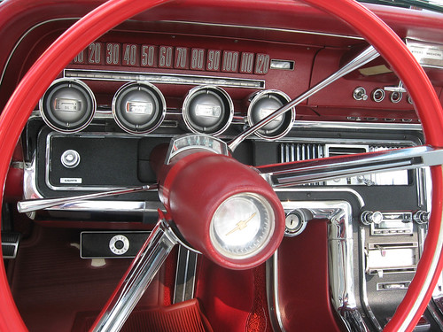 1965 Ford Thunderbird dashboard