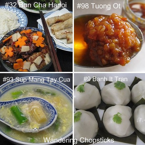 List And Names Of Vietnamese Food