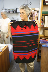 Sharie with Navajo Rug Dress