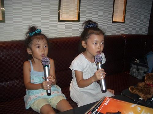 MomoNono's first Karaoke