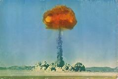 A-Bomb 1 (kevin63) Tags: postcard nevada westvirginia fleamarket lightner mushroomcloud atombomb yuccaflats openairnucleartest