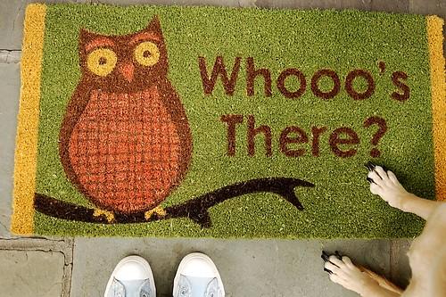 New doormat.