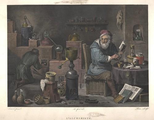 L'alchimiste (after) 1769