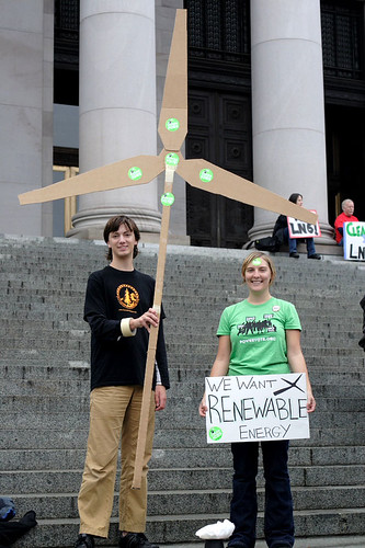 We Want Renewable Energy