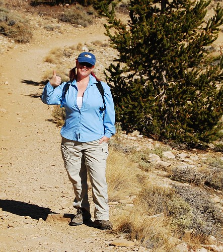 "Me on the Bristlecone ""Discovery"" Trail - 2008"