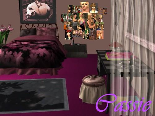 CLIQUE: Cassie's Bedroom