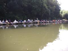 清遊湖にて