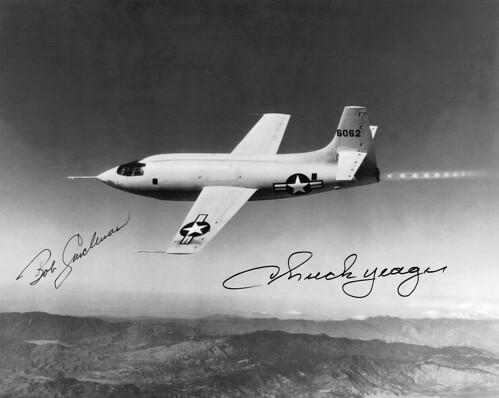 14 octobre 1947 / Chuck Yeager franchit officiellement le Mur du Son 2943009108_305e3351fd