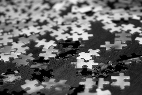 Puzzle pieces by liza31337, on Flickr