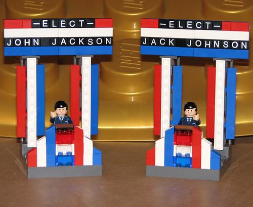 Futurama Lego clones candidatos