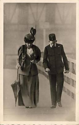 Kaiser Franz Joseph I. von Österreich mit Frau Katharina Schratt
