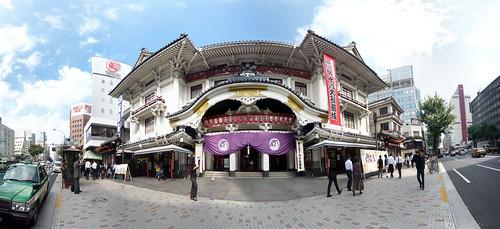 歌舞伎座パノラマ