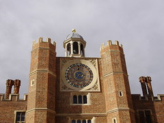 The Clock Tower at Hampton Court Palace