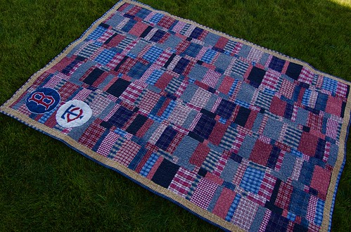 Red Sox / MN Twins Quilt