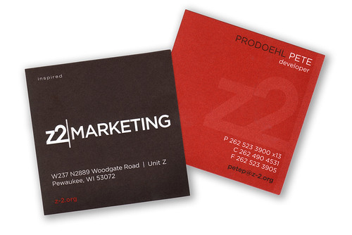 Z2 Business Card