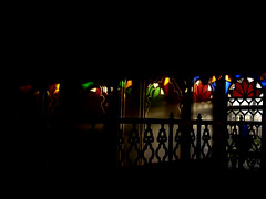 Naranjestan e Qavam (shagreen*) Tags: trip travel blue sunset red vacation house green window glass yellow wall architecture persian colorful iran shiraz iranian fars naranjestan upcoming:event=1279379