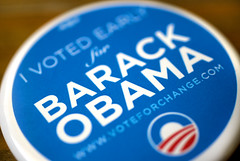 Vote Early (mfajardo) Tags: michael early bokeh explore vote fajardo obama interestingness9 ivoted barack hbw ivotedforbarackobama wwwvoteforchangecom michaeljfajardo