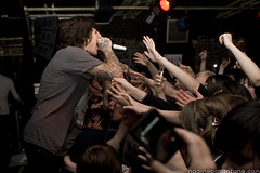 Bring Me The Horizon @ Clwb Ifor Bach (nadine ballantyne) Tags: me metal club concert live horizon gig crowd cardiff bach madness fans welsh nadine 2008 bring clwb the ifor ballantyne