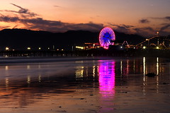 Santa Monica. The Pier. (Maurizio Contini) Tags: california park santa autumn sunset wild panorama usa mountain lake color reflection beach beautiful lady night del sunrise river point lost hotel coast pier mar casa highway long ship view pacific nevada mary shoreline scenic merced el falls queen glacier monica national valley yosemite dome half granite clubs arrow vernal bridalveil magnificent maurizio luxurious capitan grandest contini